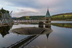 Pontsticill-Reservoir, Wales, Großbritannien Lizenzfreies Stockbild