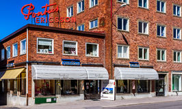 Pontus Ericsson Östersund. Store in Jämtland in Sverige Royalty Free Stock Photos