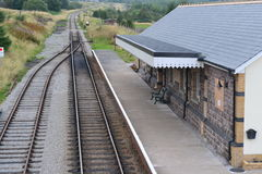 Pontypool and bleanavon train station Royalty Free Stock Images