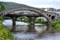 Pontypridd bridge Royalty Free Stock Image