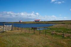 Ponura wyspa zdjęcie royalty free