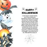 ponurej Halloween ilustracyjnej żniwiarki ustalony guślarki wampira wektor ilustracja wektor
