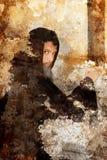 ponury grunge michaelita Obrazy Royalty Free