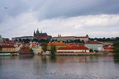 ponury Prague Obrazy Stock