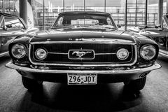 Pony car Ford Mustang convertible, 1967. Stock Photos