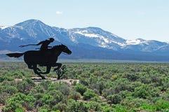 Pony Express Fotografering för Bildbyråer