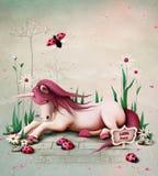 Pony Unicorn stock illustration