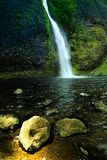 Pony waterfall in oregon stock photography