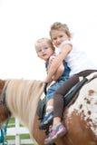 Ponyreiten Stockfotografie