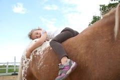 Ponyreiten Lizenzfreies Stockfoto