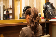 Ponytail Royalty Free Stock Images