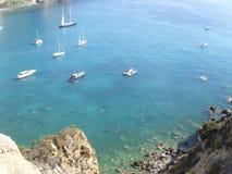 ponza νησιών στοκ εικόνα