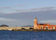 Ponza lighthouse Royalty Free Stock Photo