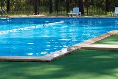 Poo de natation Photographie stock libre de droits