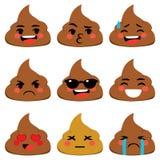 Poo Emoji Στοκ Εικόνες