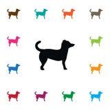 Pooch Icon d'isolement L'élément de vecteur de chien peut être employé pour le chien, animal, Pooch Design Concept Illustration Libre de Droits
