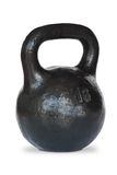 A pood kettlebell. stock images