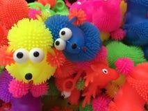 Poodle. Colorfull dog toy Stock Photo