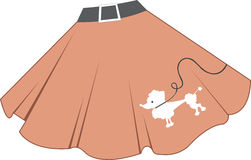 Poodle Skirt Stock Images