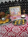 Pooja стоковое фото