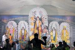 Pooja de Durga Fotografia de Stock Royalty Free