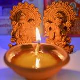 Pooja de Lakshmi Ganesha Foto de Stock Royalty Free