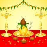 Pooja Kalash Royalty Free Stock Image