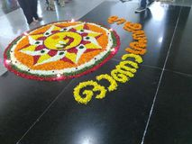 Pookalam Photos stock