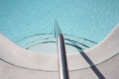 Pool. Steps Stock Images