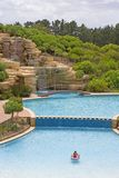 Pool. Swimming pool in south african resort Stock Images