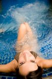 In Pool Royalty Free Stock Photography
