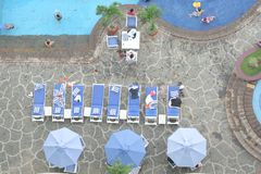 The pool Stock Photo