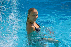 In pool royalty free stock image