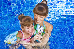 In pool Stock Images