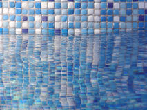 Pool. With tiles stock photos