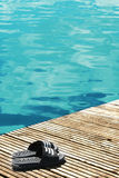 At the pool Royalty Free Stock Photography