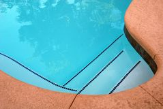 Pool abstraction Royalty Free Stock Photography