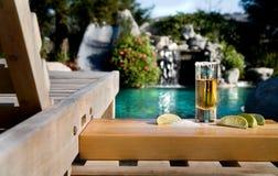 Pool Activities Stock Photo