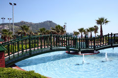 Pool in Alanya Royalty Free Stock Images