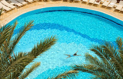 Pool area Royalty Free Stock Images
