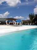 Pool Area Stock Photo