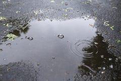 Pool auf Asphalt lizenzfreies stockbild