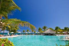 Pool auf dem Strand Lizenzfreie Stockbilder