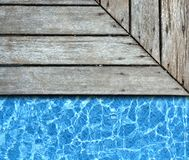 Pool background Royalty Free Stock Image