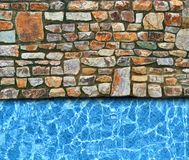 Pool background Royalty Free Stock Photo
