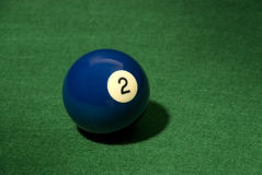 Pool ball 2 Stock Images