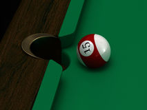 Pool ball Royalty Free Stock Photo