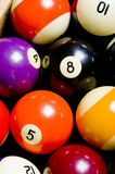 Pool Ball Background Royalty Free Stock Images