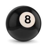 8 pool ball Royalty Free Stock Image