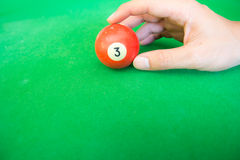 Pool ball Royalty Free Stock Image